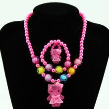 Детский комплект украшений для девочек, <b>колье</b> и браслет с ...
