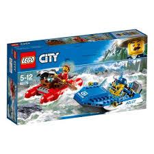 <b>Конструктор LEGO City Police</b> 60176 Погоня по горной реке ...