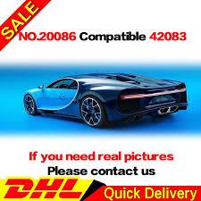 DHL <b>LP 20086</b> Technic Bugattieding with Power Function Car Set ...