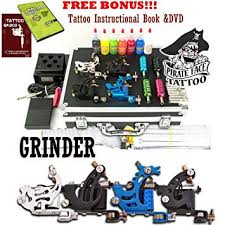 Grinder Tattoo Kit by Pirate Face Tattoo / 4 Tattoo ... - Amazon.com
