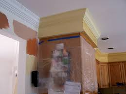 kitchen soffit contemporary cabinet