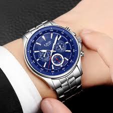 <b>2018 LIGE Mens</b> Watches Top Brand Luxury Quartz Watch <b>Men</b> ...