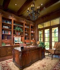 classy home office with book shelves beauteous modern home office interior ideas