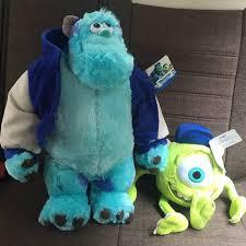 On Sale <b>2pcs Original</b> Monsters University 30cm Mike + 50cm ...