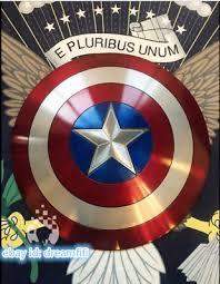 <b>Captain America Shield</b> 1:1 Full Aluminum Metal <b>Shield Cosplay</b> ...