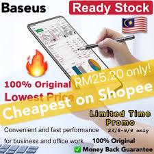 Ready <b>stock</b>  <b>Baseus 2</b> IN <b>1</b> Touch Screen Capacitive Stylus Pen ...