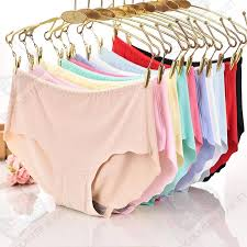 Ice Silk Panty <b>Sexy Seamless Lingerie Women</b> Underewear panties ...