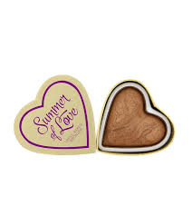 <b>Бронзер I Heart</b> Makeup Blushing <b>Hearts</b> - <b>Love</b> Hot Summer <b>Bronzer</b>