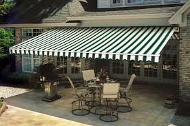 pleasing patio retractable awnings