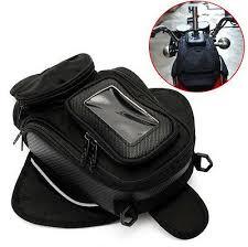 Magnetic <b>Motorcycle Motorbike Oil</b> Fuel Tank Bag Black Universal ...