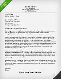 janitor maintenance cover letter example track coach cover letter