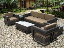 patio couch set olivio aluminum woven wicker collection by mallin outdoor patio furniture