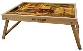 Купить <b>Поднос</b>-столик Gift'n'Home TL (бук) парижское кафе по ...