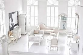white on white all white furniture design