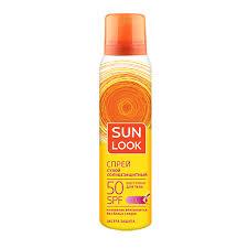 Купить <b>Спрей для</b> тела `SUN LOOK` солнцезащитный <b>сухой</b> SPF ...