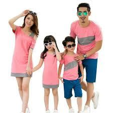 2019 <b>Family Matching Outfits Summer Family</b> Look <b>Matching</b> ...