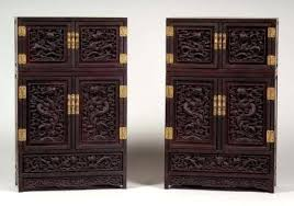 <b>Antique Asian</b> Furniture Sold For Pair Of Collectors <b>Cabinets</b> ...
