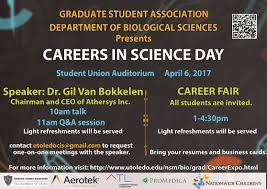 college of graduate studies news careers in science day on 6 2017