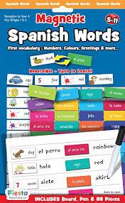 Fiesta Crafts Spanish <b>Words</b> Magnetic Activity Chart: Amazon.co.uk ...