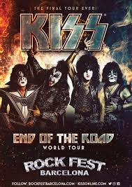 <b>KISS</b> to play one last festival in Spain at <b>ROCK</b> FEST BARCELONA ...