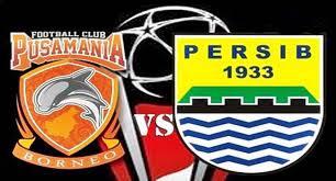 Hasil gambar untuk Foto Borneo FC Vs Persib Bandung