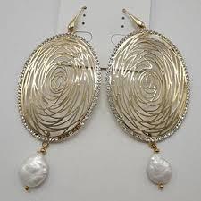 <b>Natural</b> Cultured <b>Pearls</b> Earrings, Series <b>Fashionable</b> Open ...