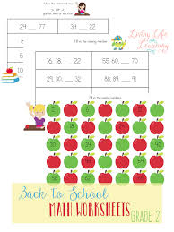 Math Worksheets for KidsGet ready to head back to school with these math sheets to practice skip counting and. 2nd Grade Math Worksheets
