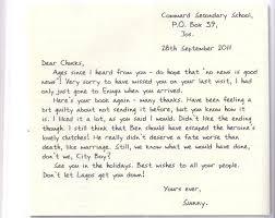 grammar clinic letter writing informal letter passnownow informal letter