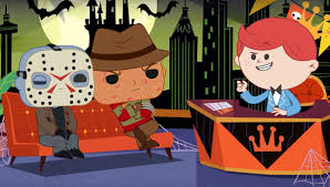 It's <b>Funko</b> Jason vs. <b>Funko Freddy</b> in an adorable animated ...