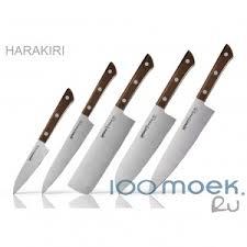 <b>Набор из 5-ти</b> ножей Samura Harakiri по лучшей цене — «100 ...