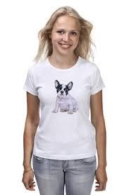 """<b>Женские футболки</b> c красивыми принтами """"собаки"""" - купить в ..."""