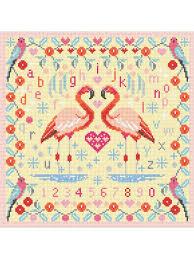 "<b>Набор для вышивания</b> ""Flamingos"" <b>Riverdrift</b> House 9568402 в ..."