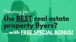 real estate property flyers special bonus real estate property flyers special bonus