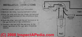 electric motor starting capacitor wiring & installation 240V Motor with Thermal Protection 240v Wiring Diagram Motor Starters wiring diagram for a motor starting capacitor