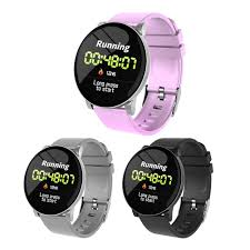 <b>W8 Sports Smart Watch</b> Weather Fitness Bracelet Tracker IP67 1.3 ...
