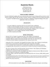 professional esthetician templates to showcase your talent    resume templates  esthetician