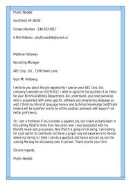 good examples of cover letters for resumes