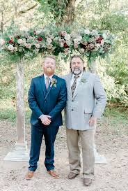 Me and my <b>old man</b> at my wedding. The <b>red beard</b> is from my mom's ...