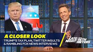Trump's Tax Plan, Twitter Insults and Rambling Fox News Interview ...