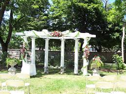Decorating A Trellis For A Wedding Fabric And Ribbons For Wedding Pergola 10 Best Images About