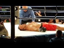 "Tim Hague VS Adam Braidwood ""WARNING GRAPHIC""! Boxer dies ..."