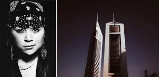 'Edge of Arabia: A Work in Progress' by Mexican-American Fine Art Photographer Natalie Marie Franco - Magazine ... - 01_Natalie-Franco_Dark-SkyScrapers-Dubai-UAE