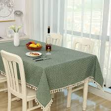 Countryside Style Inspissate Tablecloth Cotton Linen Table Cloth ...