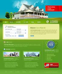 Download real estate websites templates