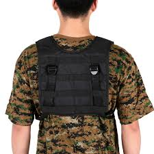 Airsoft <b>Military Tactical Vest Outdoor Hunting Vest</b> Oxford Molle <b>Vest</b> ...
