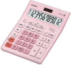 <b>Калькулятор</b> настольный <b>Casio GR</b>-<b>12C</b>-<b>PK</b> розовый 12-разр ...