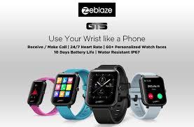 <b>Zeblaze GTS smartwatch</b> released with great presale pricing ...