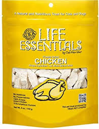 <b>LIFE ESSENTIALS</b> By Cat-Man-Doo All Natural <b>Freeze Dried</b>