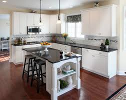 floors baltic brown granite maple cabinets traditional