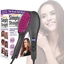 Women Hair Straightener Brush | Electric Ceramic ... - Amazon.com